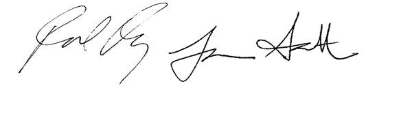 rachael lauren signatures