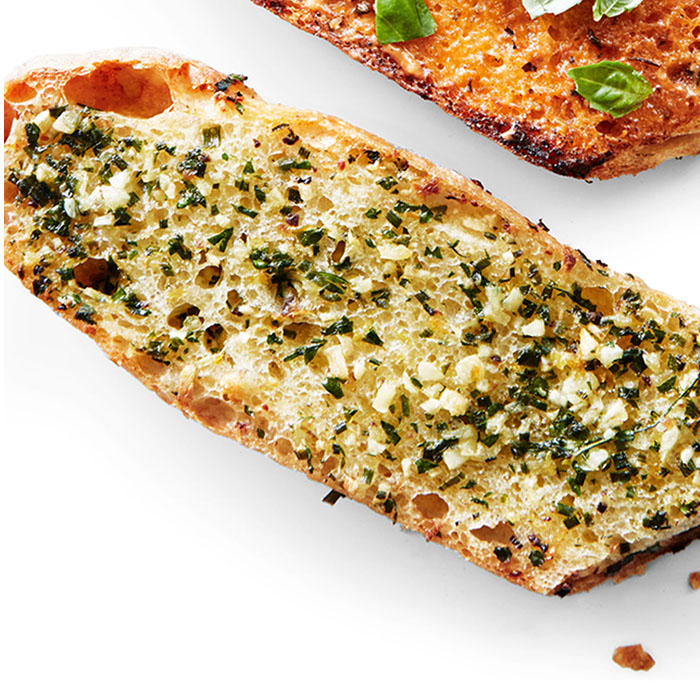 anchovy and lemon garlic bread