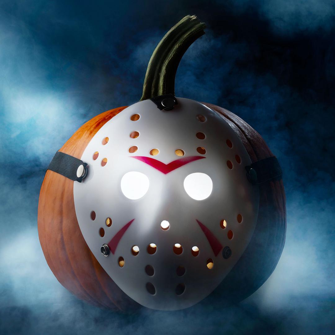 Friday the 13th pumpkin