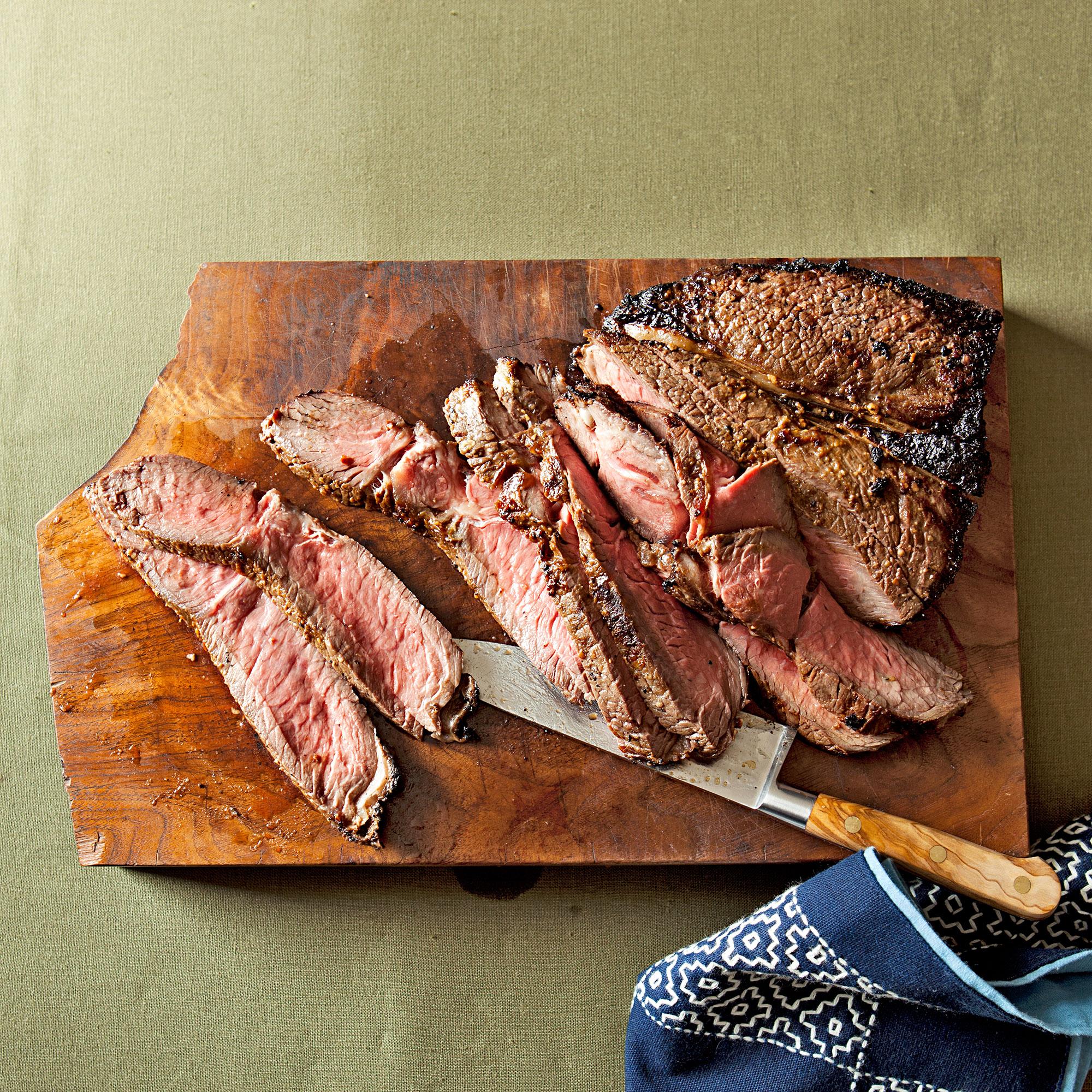 Broiled Miso Steak