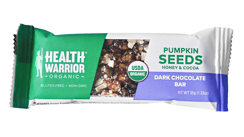 Health Warrior organic pumpkin seed bar