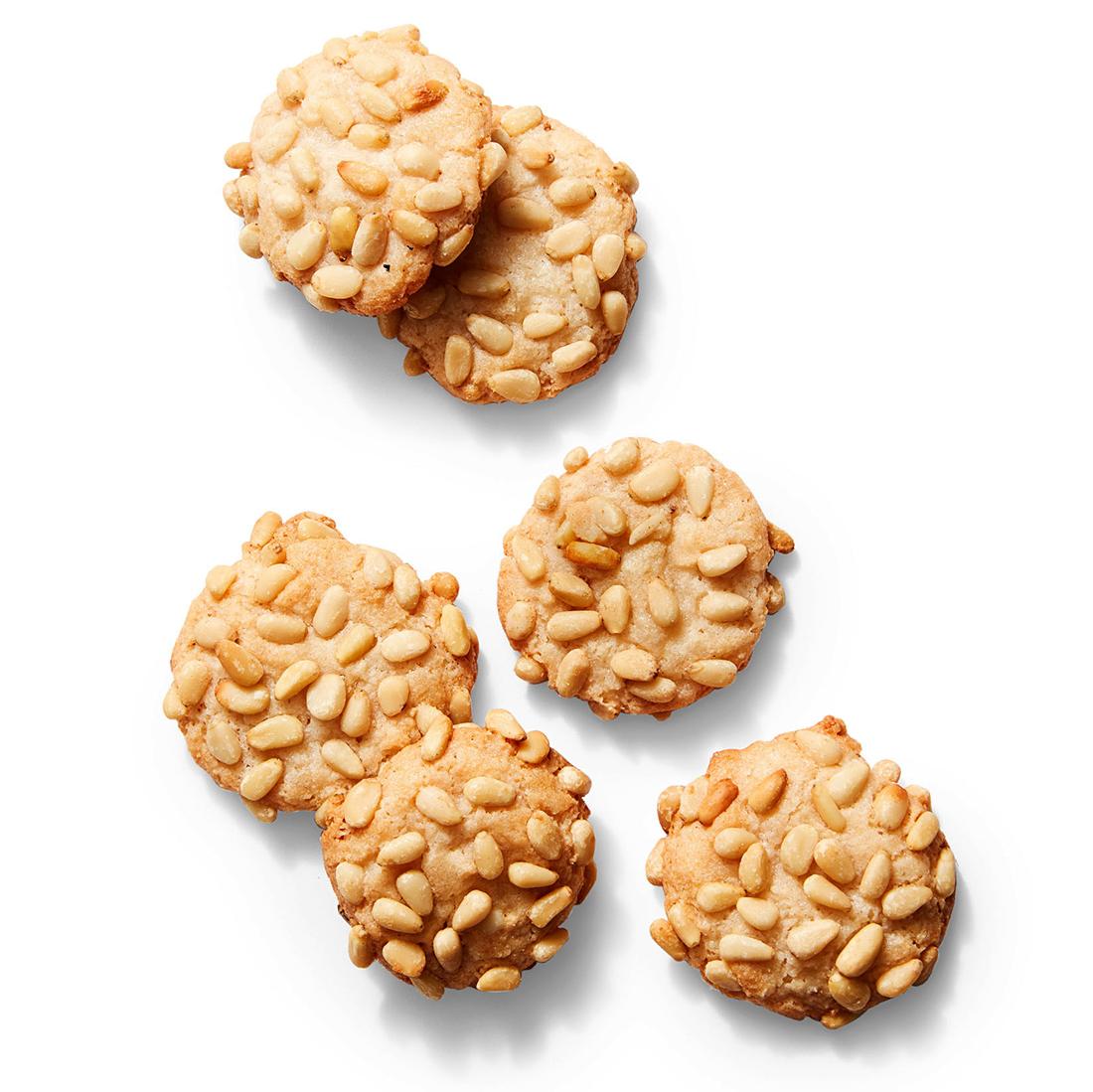 almond pine nut cookies 1018