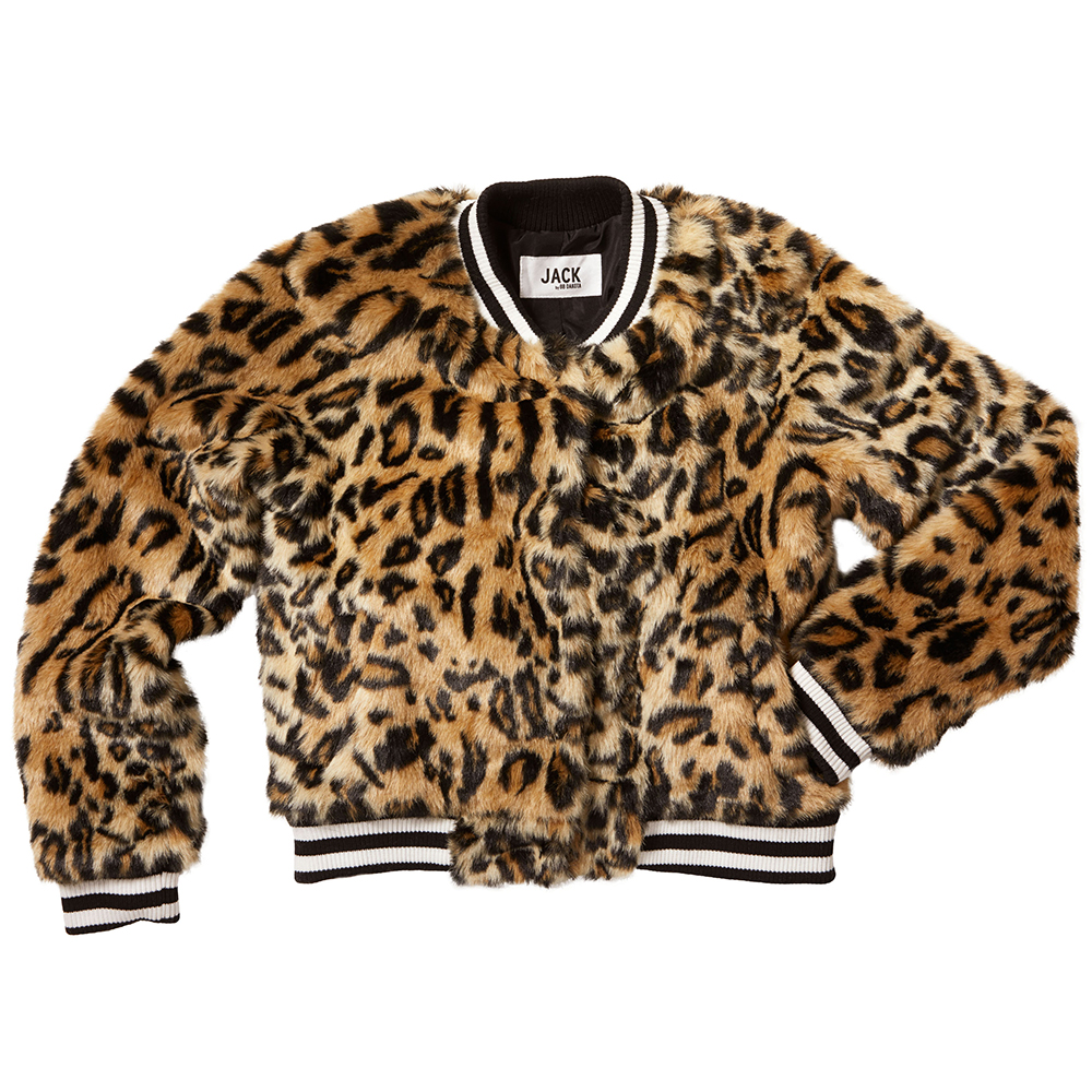 clever girl bomber from jack by bb dakota faux fur