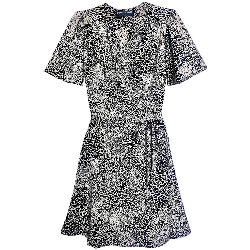 endless summer riley wrap dress