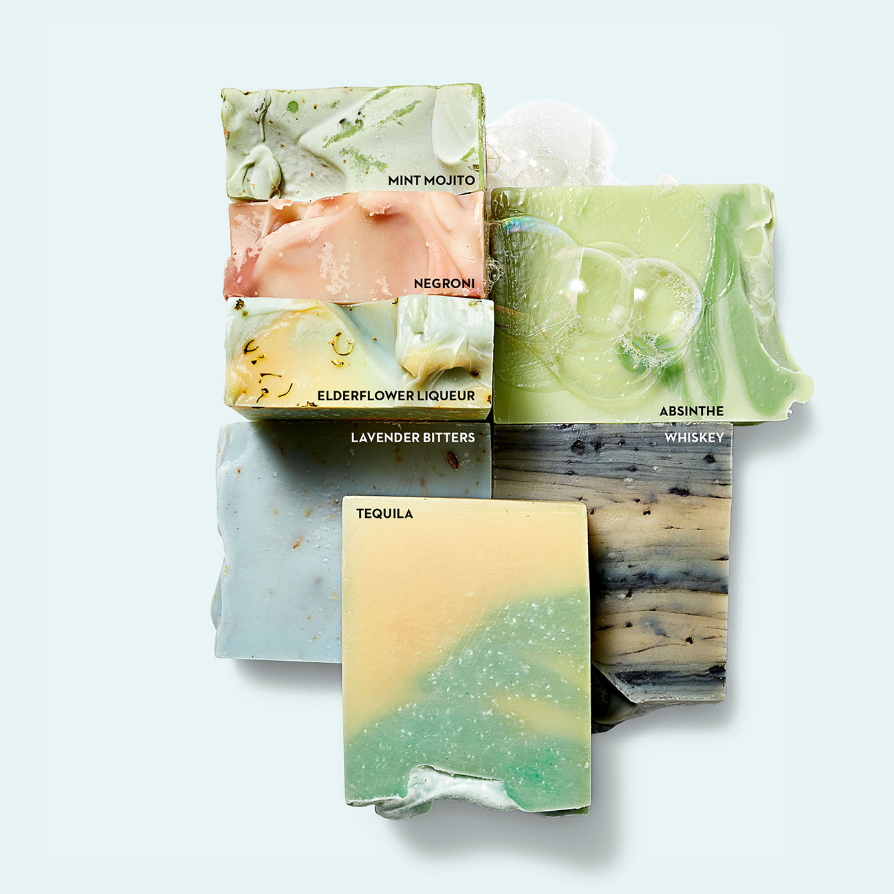 cocktail scented bars of soap