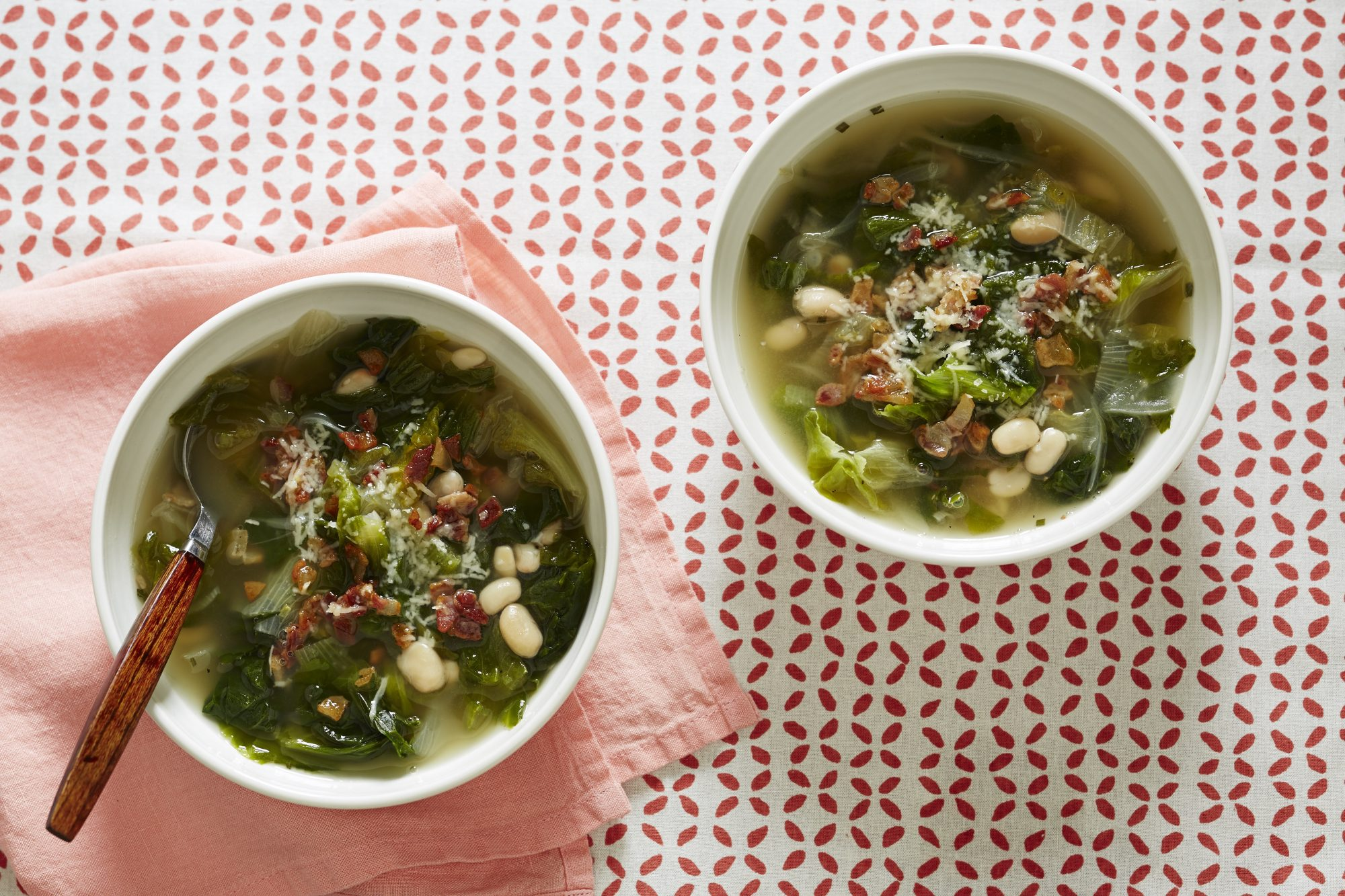 Bean & Escarole Soup
