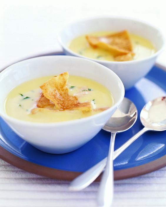 Greek Lemon and Orzo Soup