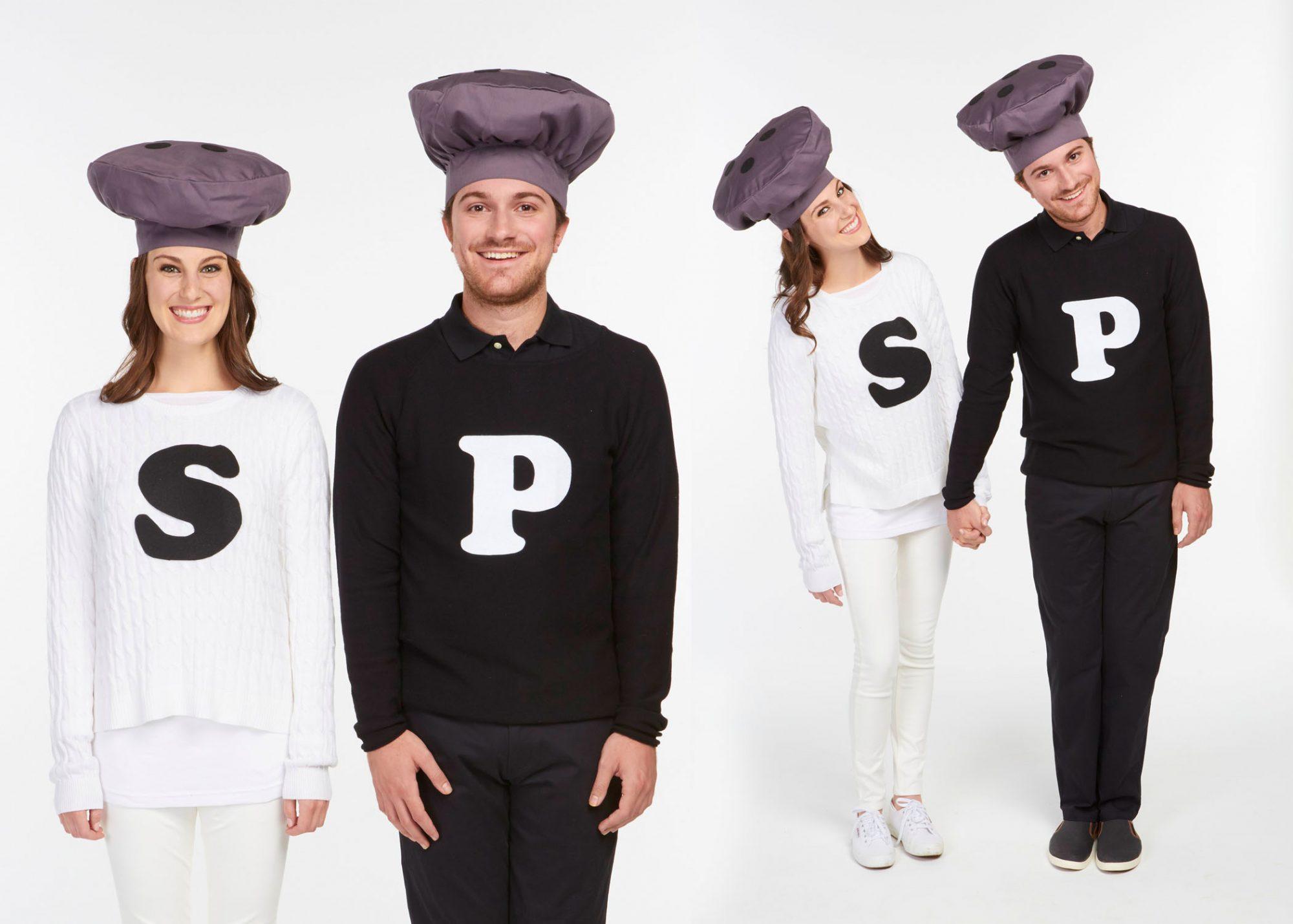 salt and pepper costume
