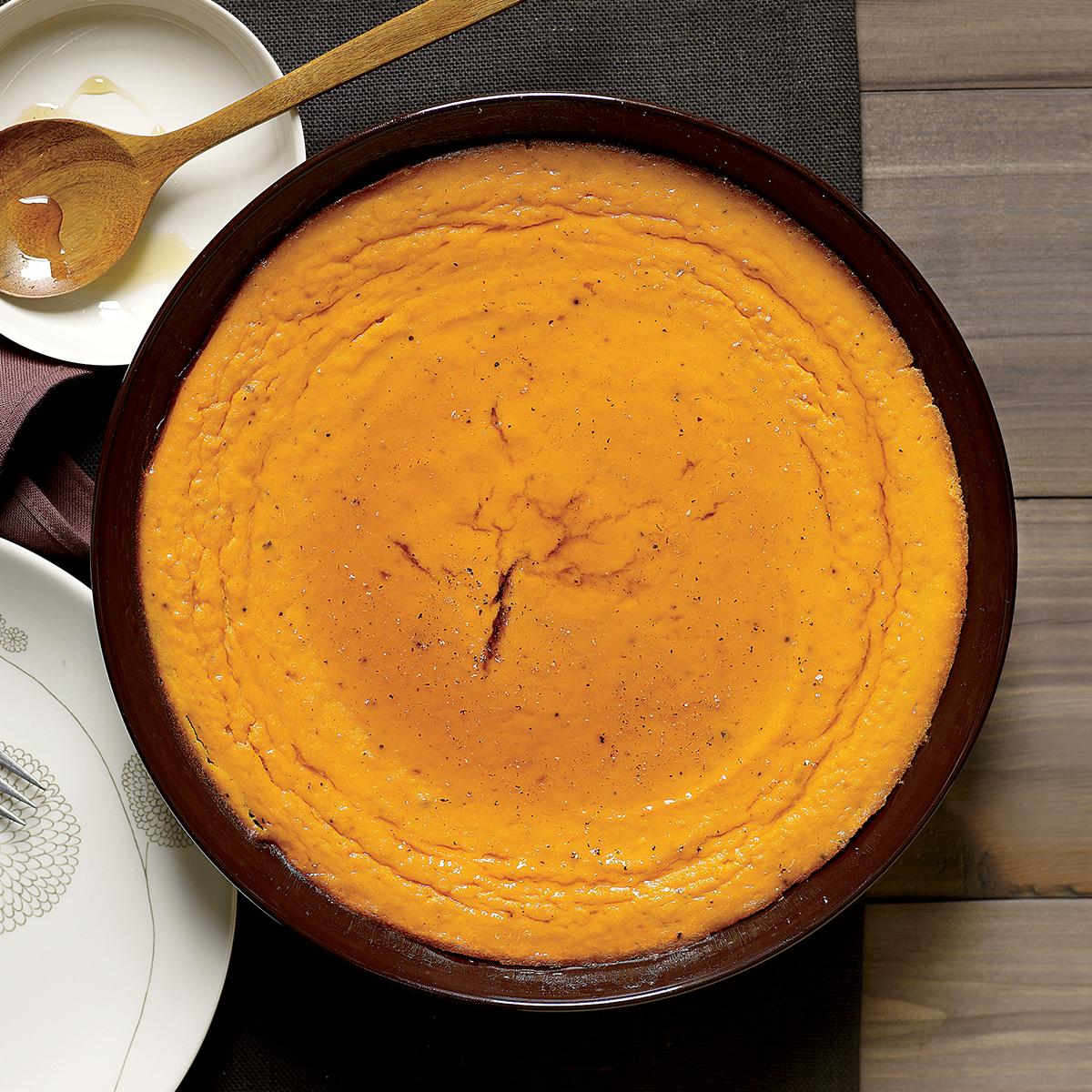 sweet potato custard