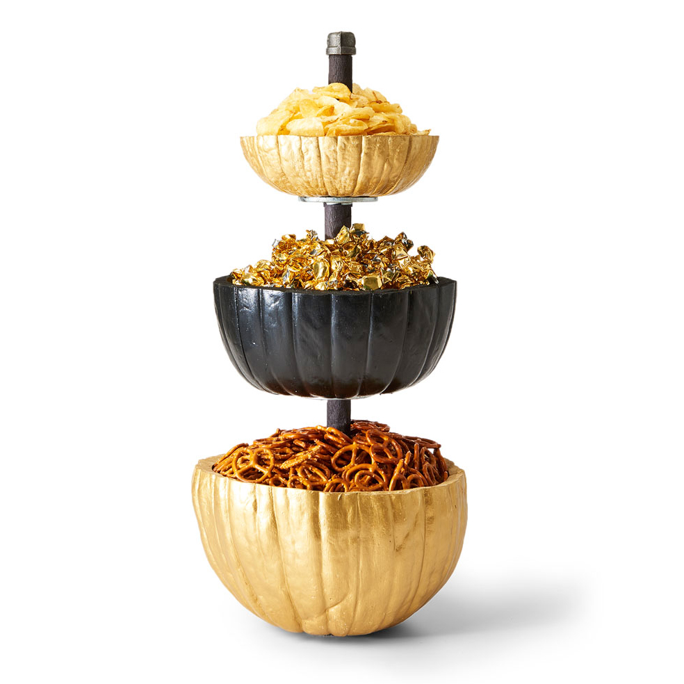 tiered pumpkin server