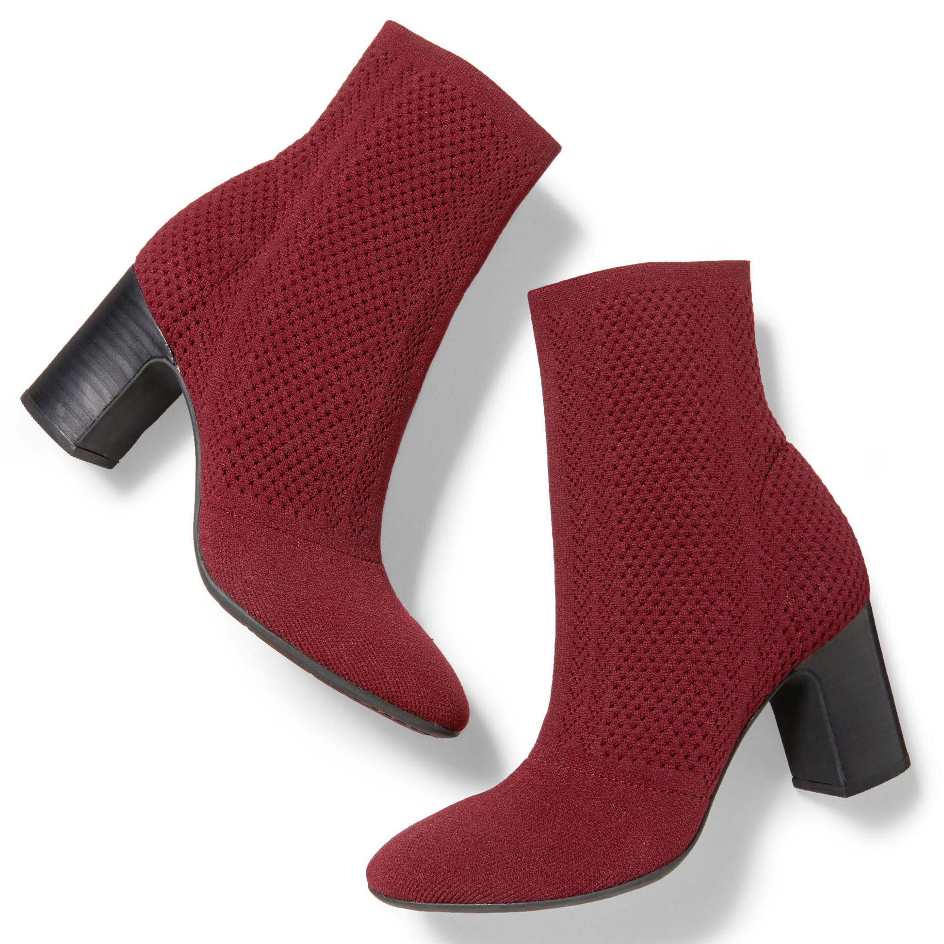 barn meggs knit booties shoes
