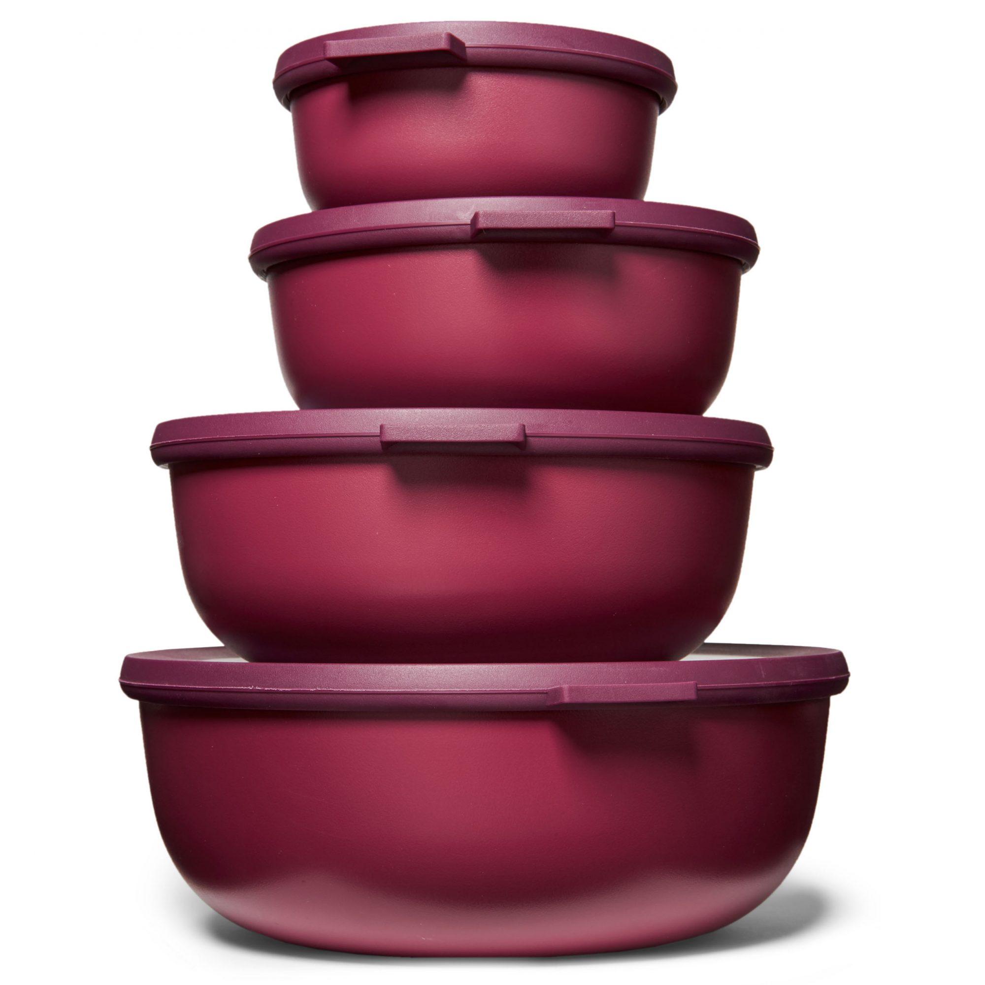 rosti mepal microwavable nested storage bowls
