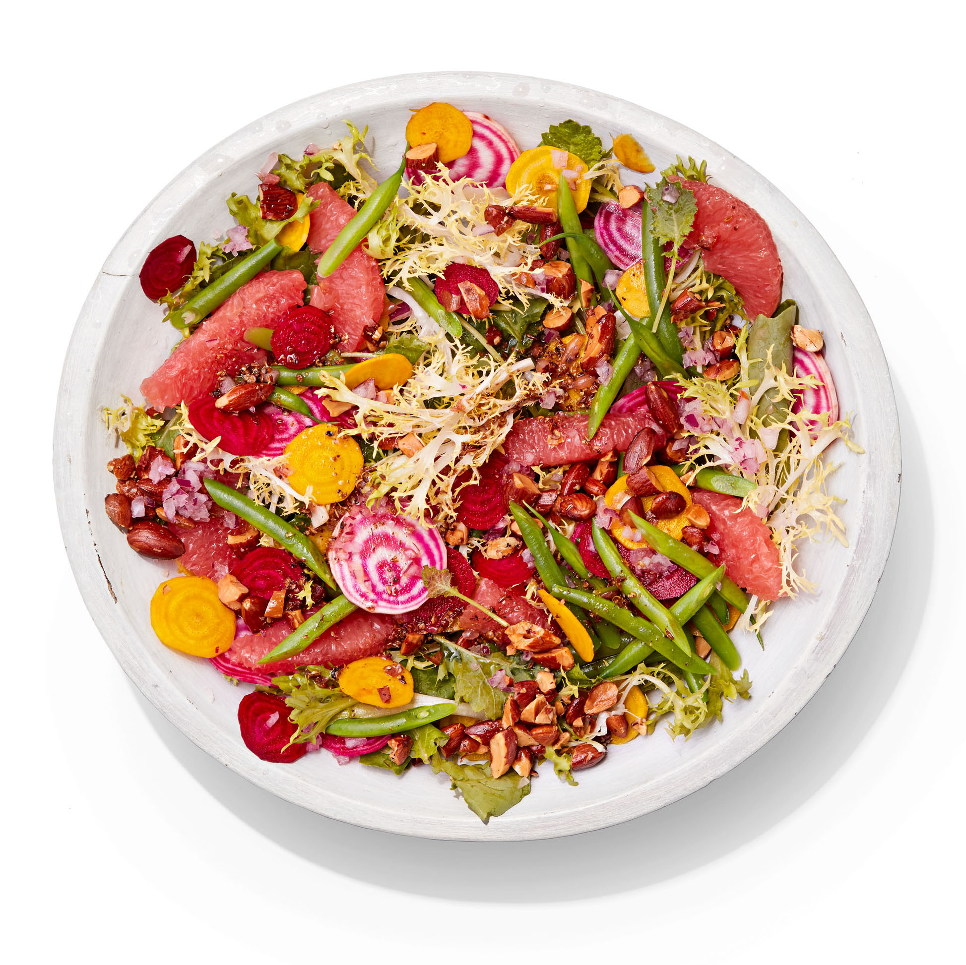 Shaved Beet & Green Bean Salad