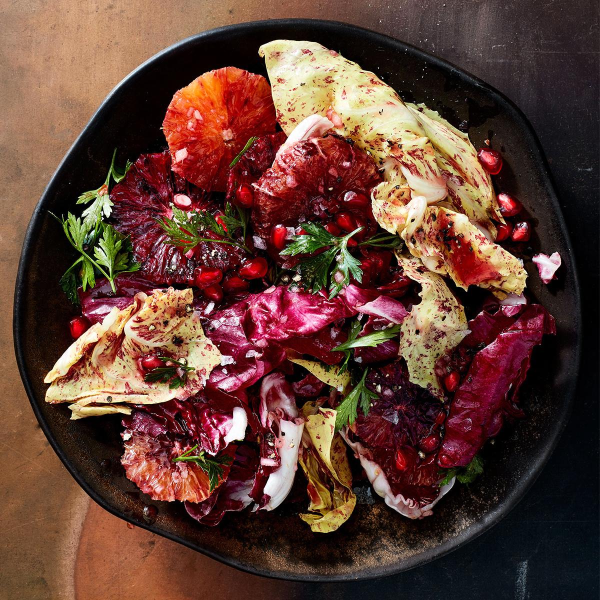 radicchio and citrus salad