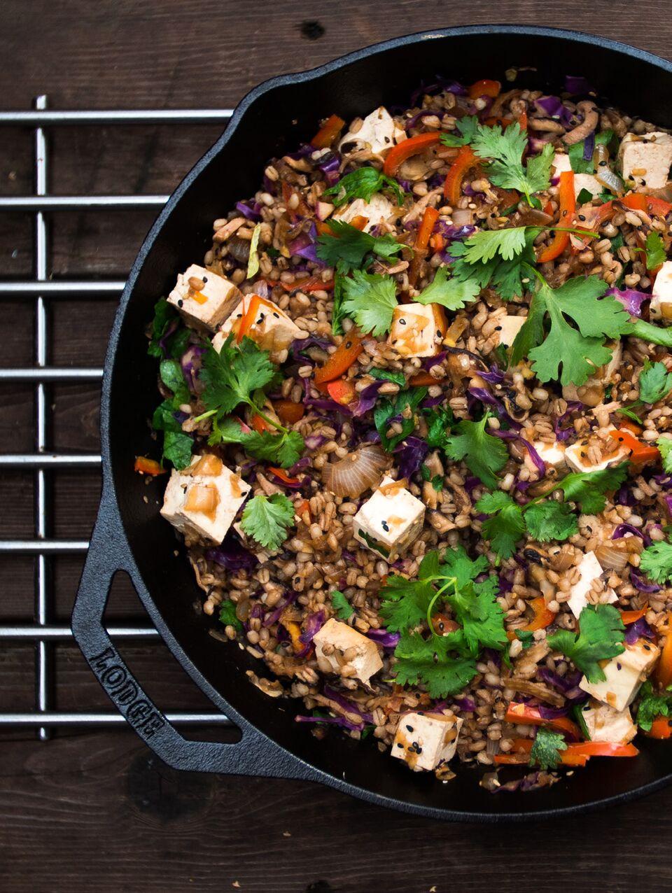 Saag and Tofu Paneer