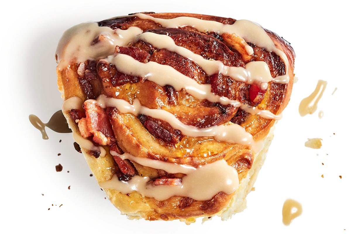 orange bacon rolls