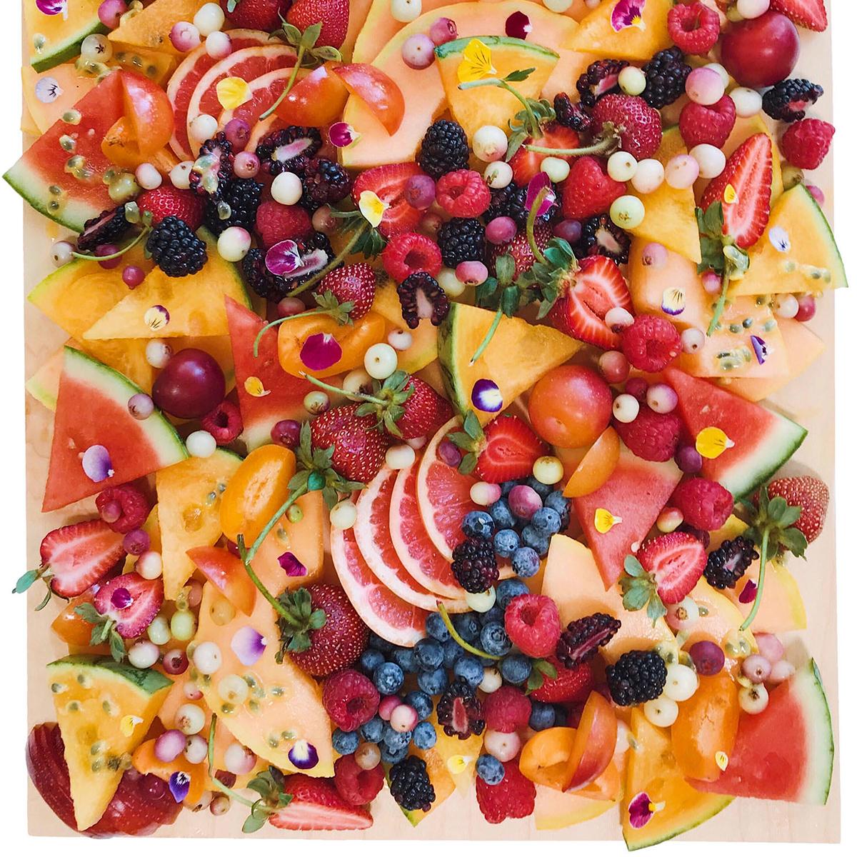 fruit fruitcuterie board