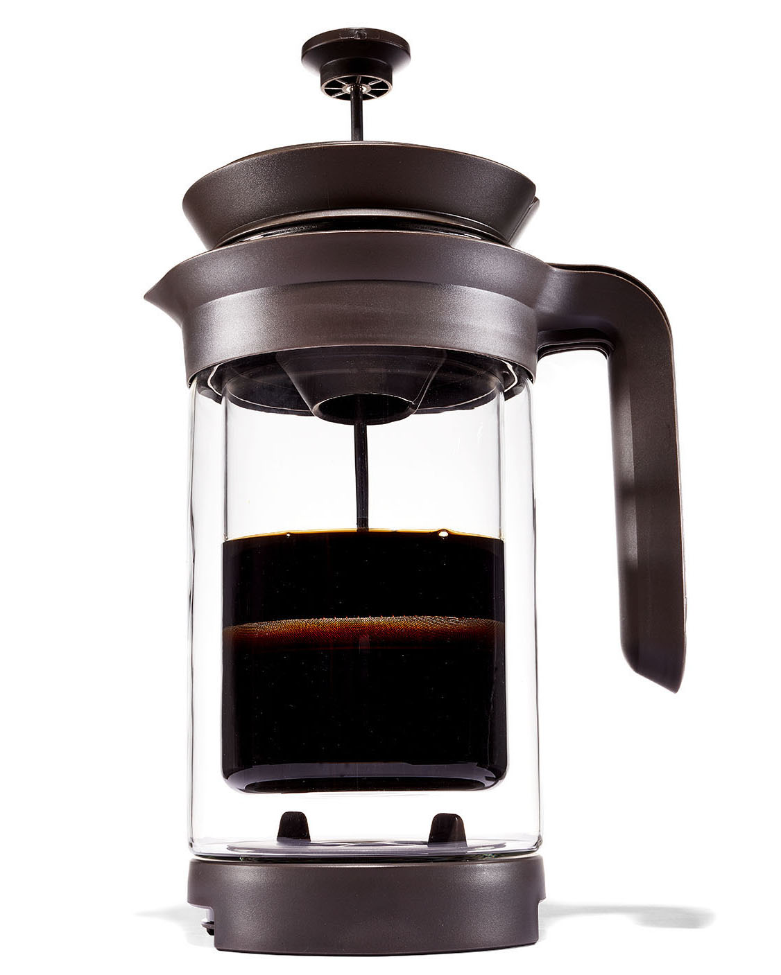 three in one coffee brewer french press, pour-over, and cold-brew