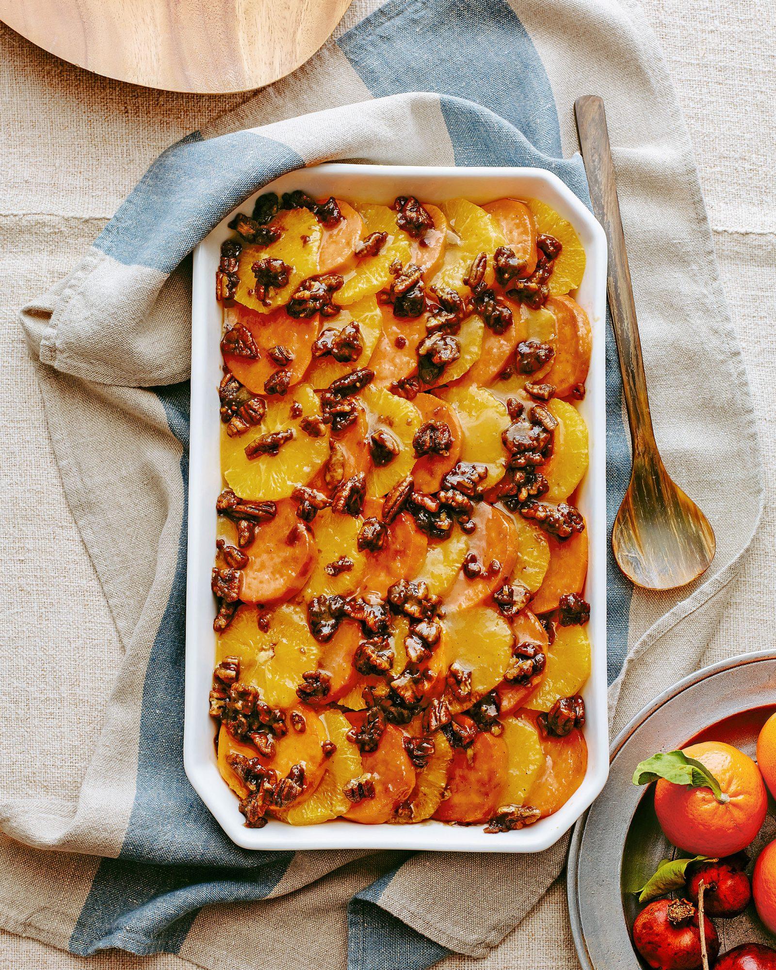 joy philbin's sweet potato orange casserole