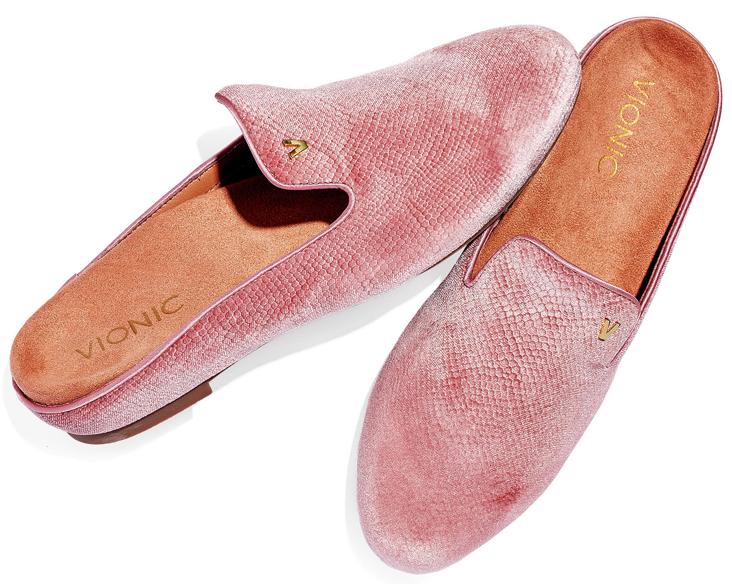 pink mule slides shoes