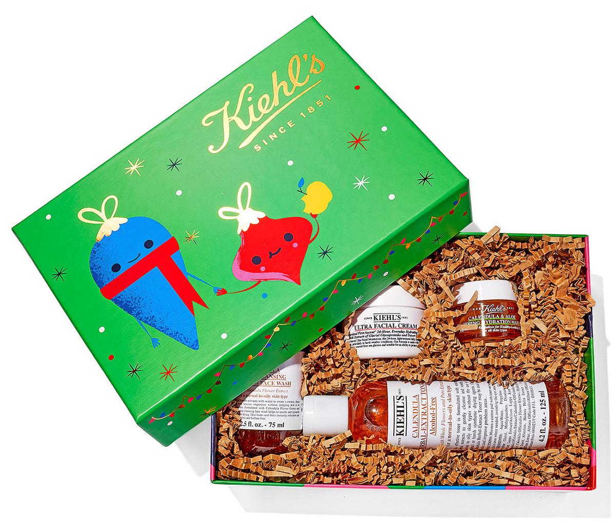 kiehl's skin care kit gift
