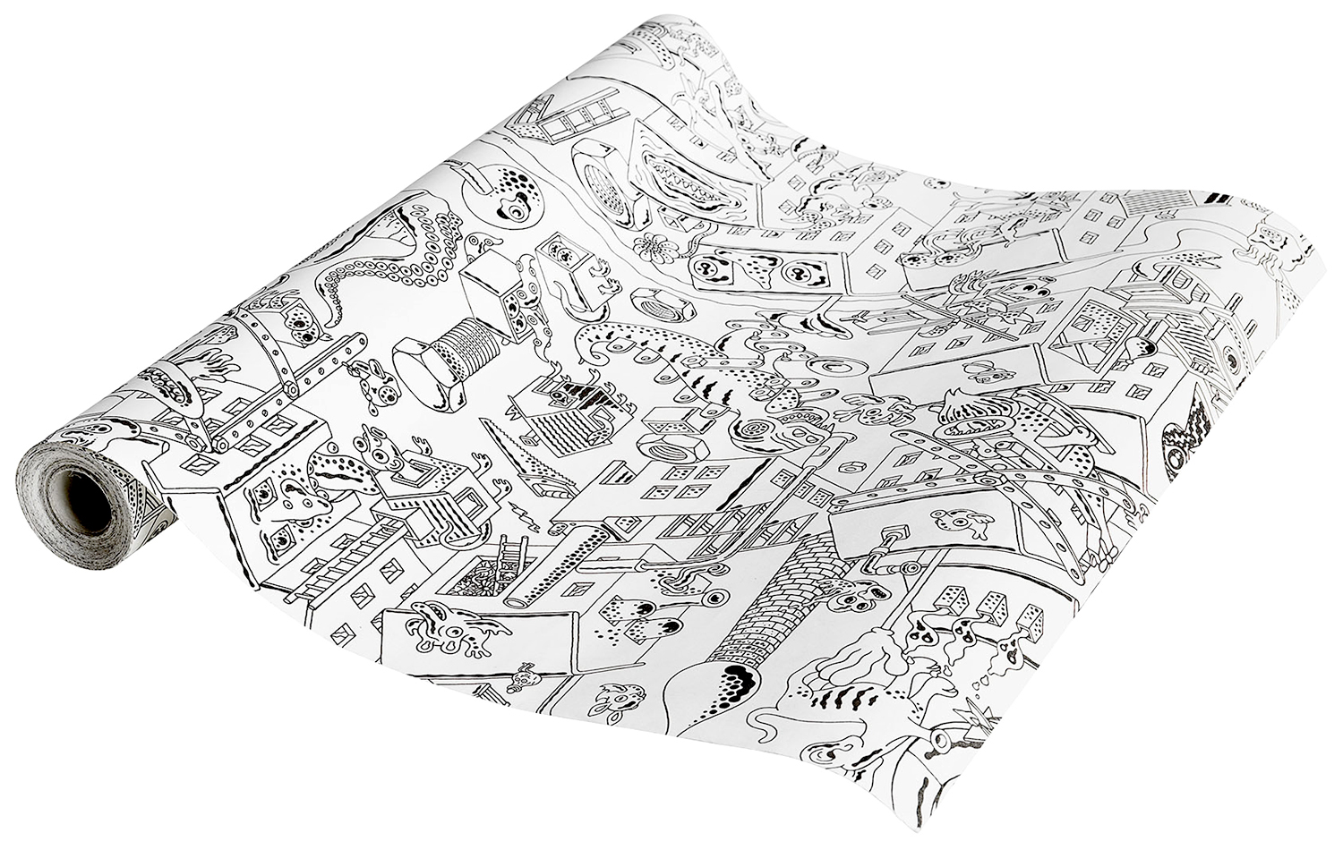 ikea lustigt coloring paper roll