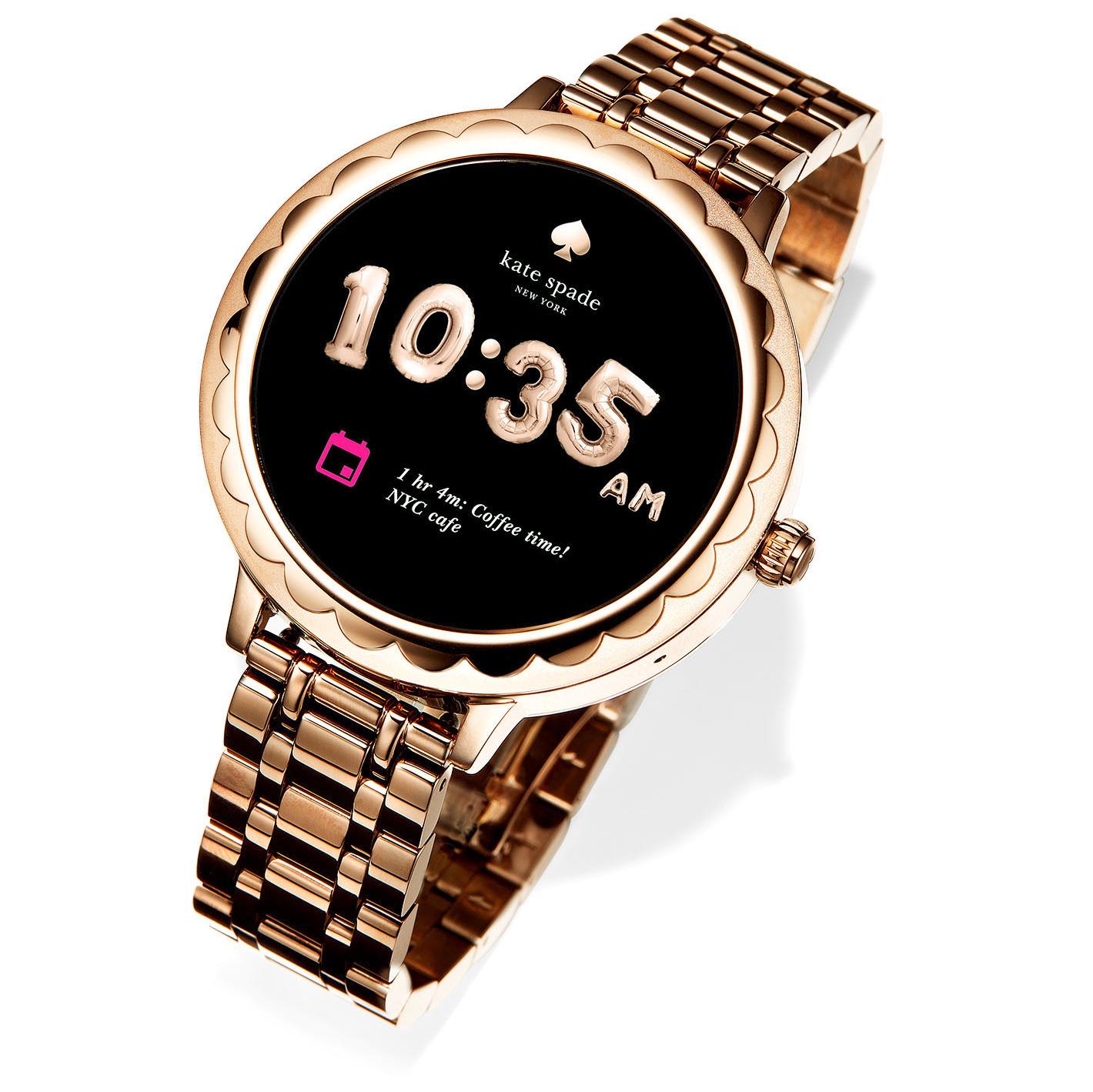 kate spade new york scallop touchscreen watch