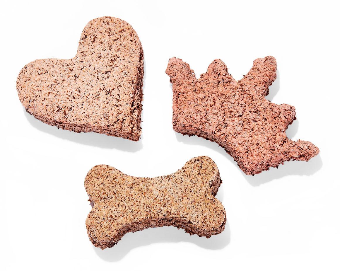 shaped dog treats