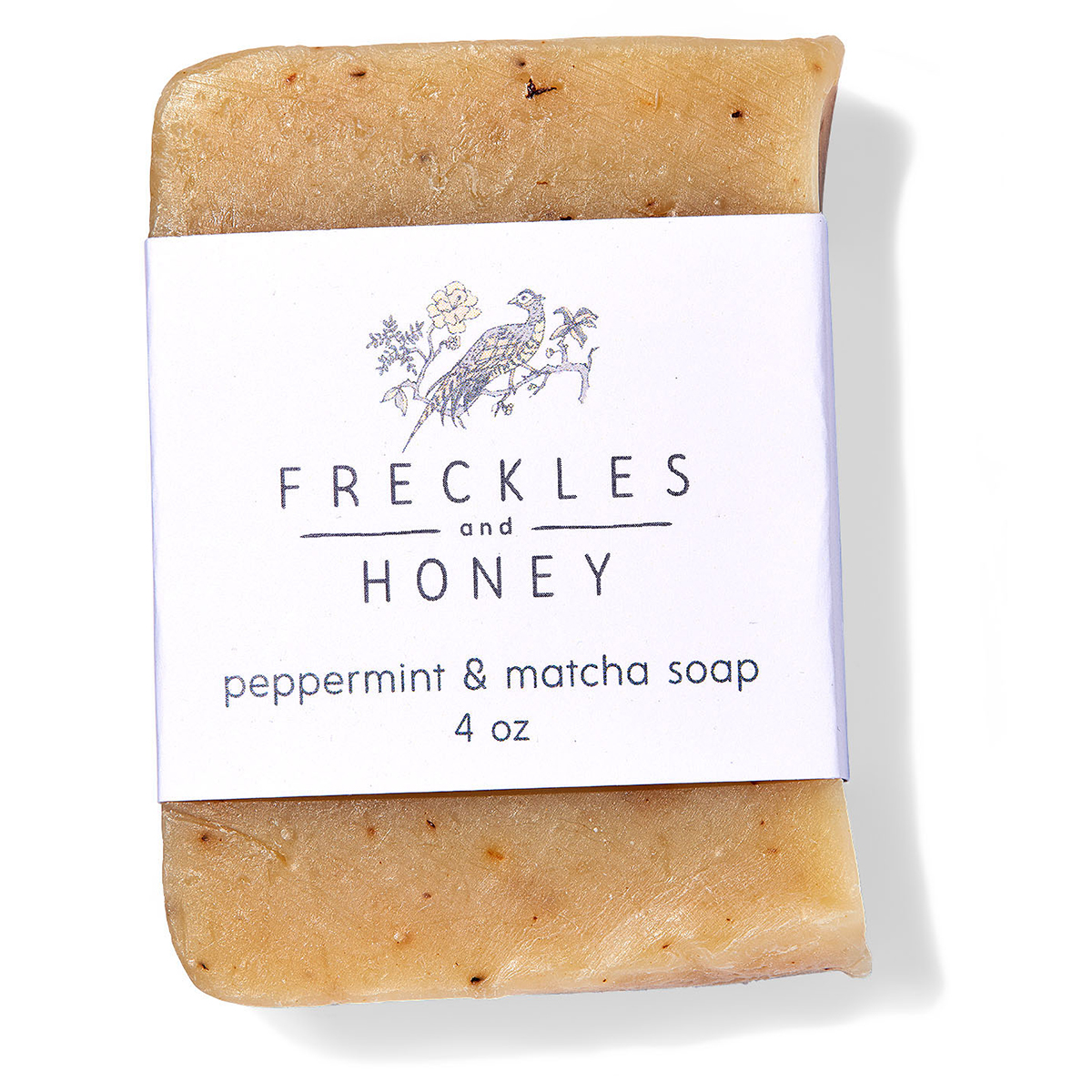 freckles and honey soap bar