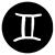 gemini zodiac sign illustration