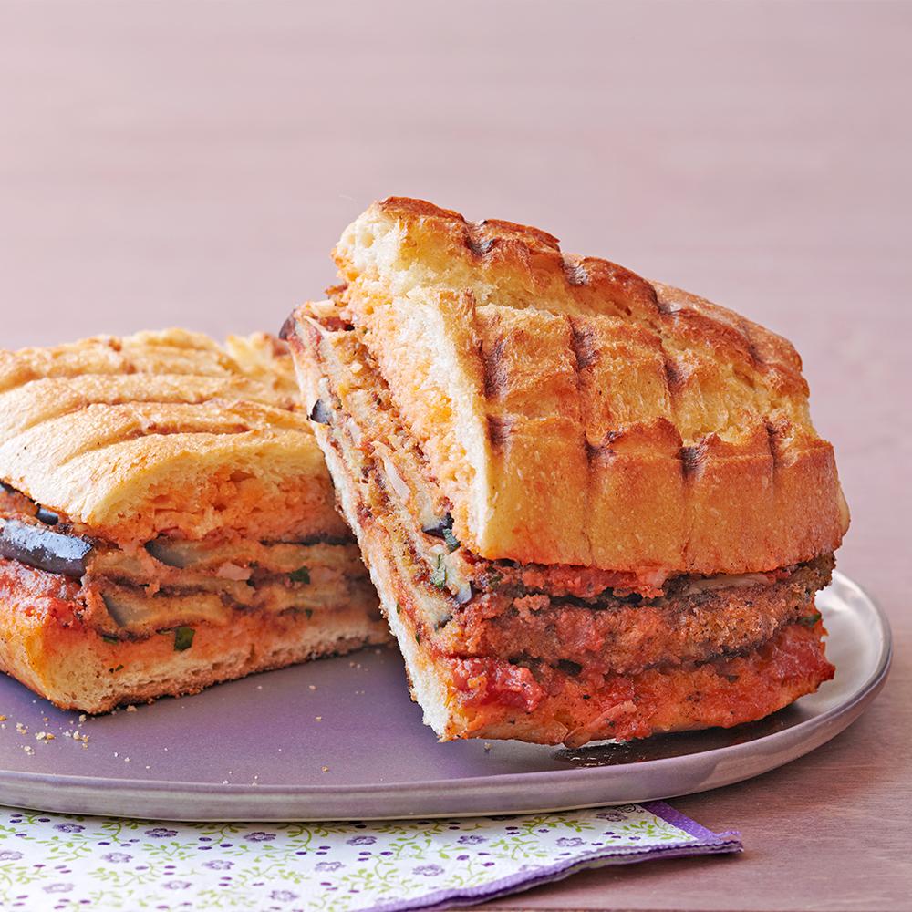 eggplant parm panini