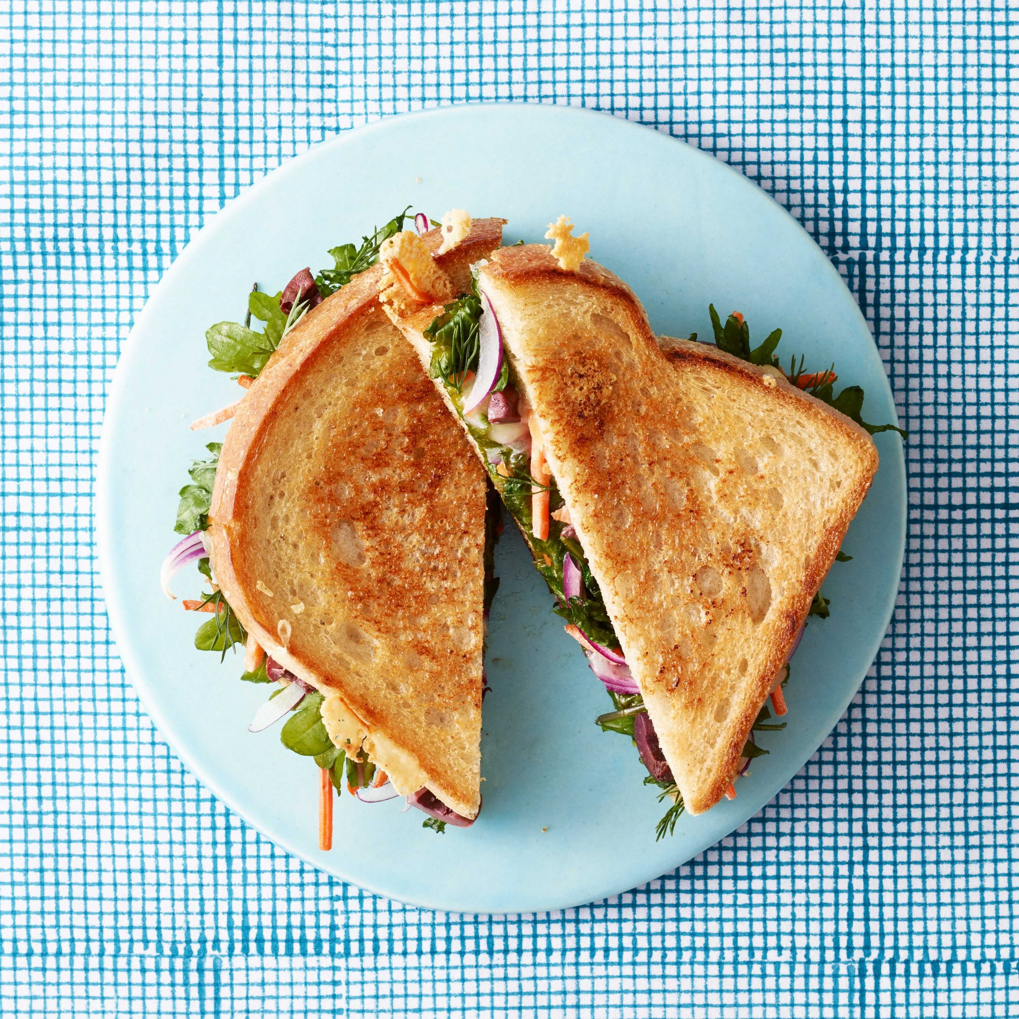 Very Veggie Grilled Cheese Sandwiches