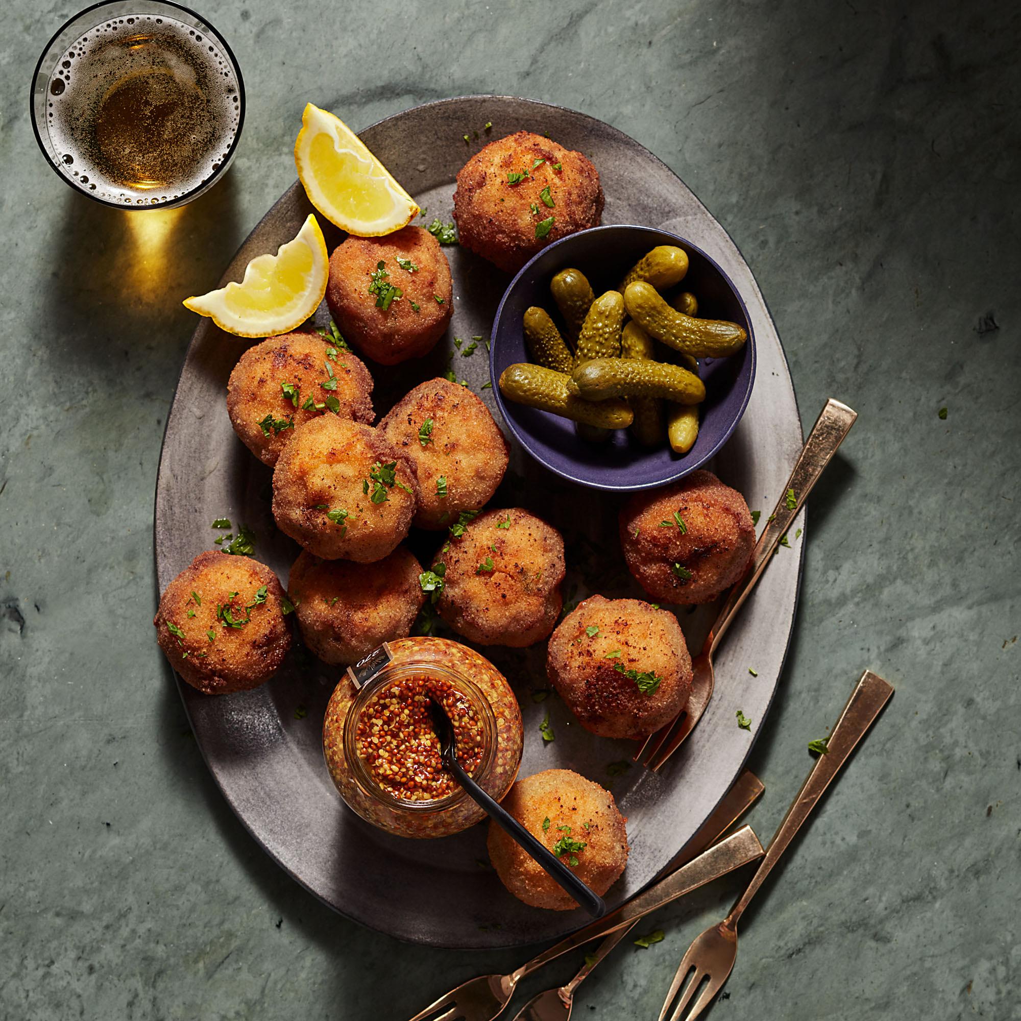 Pork Schnitzel Meatballs
