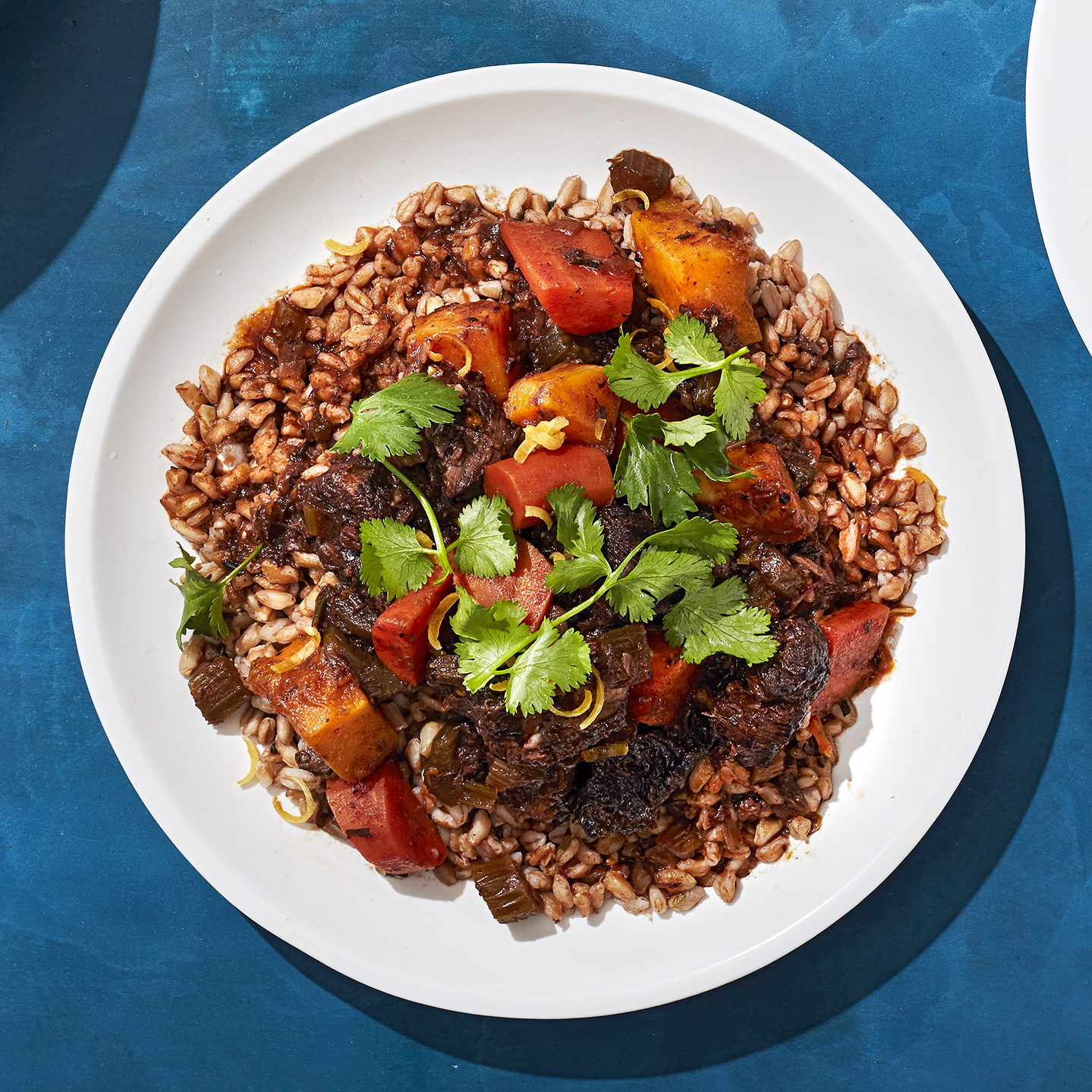 spiced moroccan beef bowl