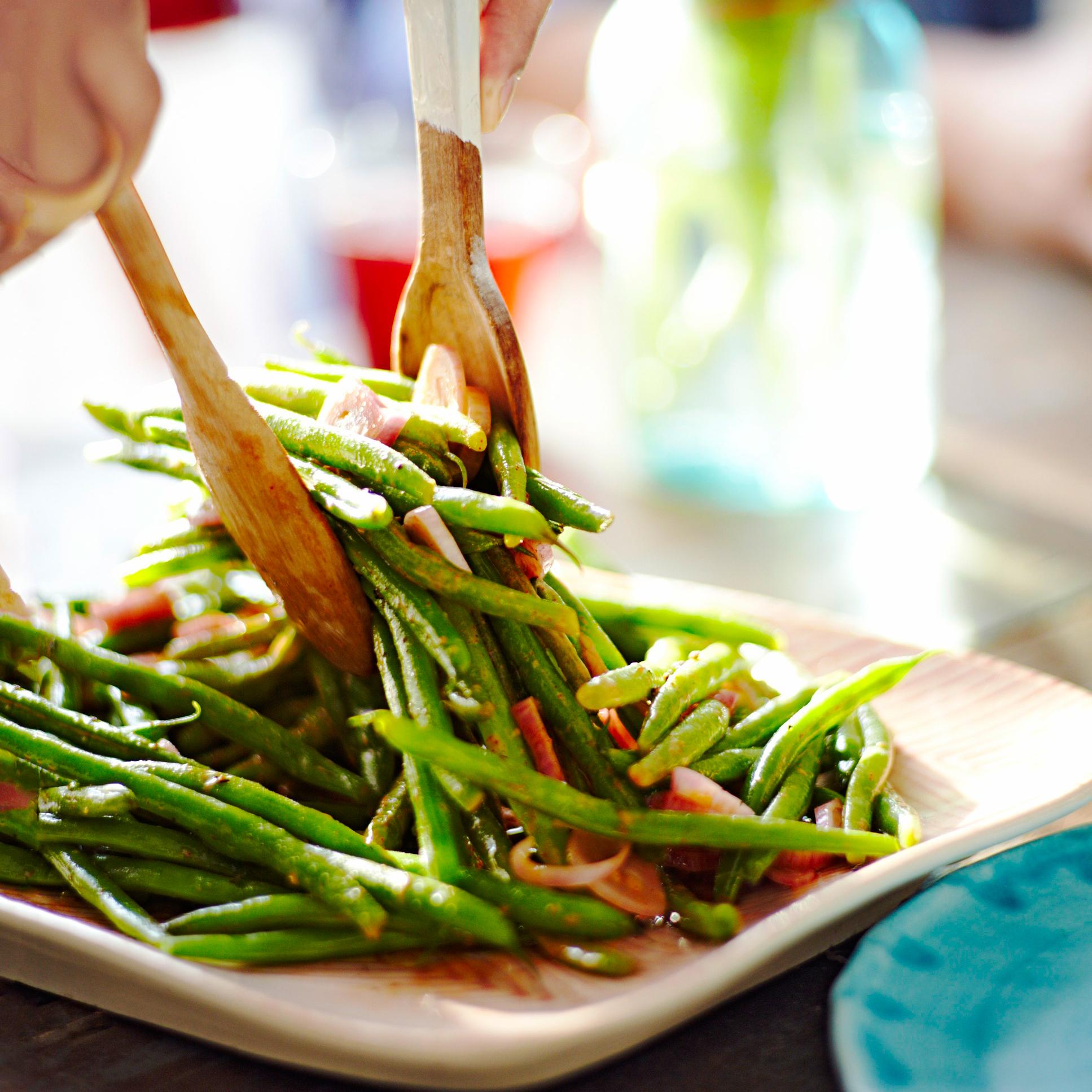 Green Bean & Shallot Salad