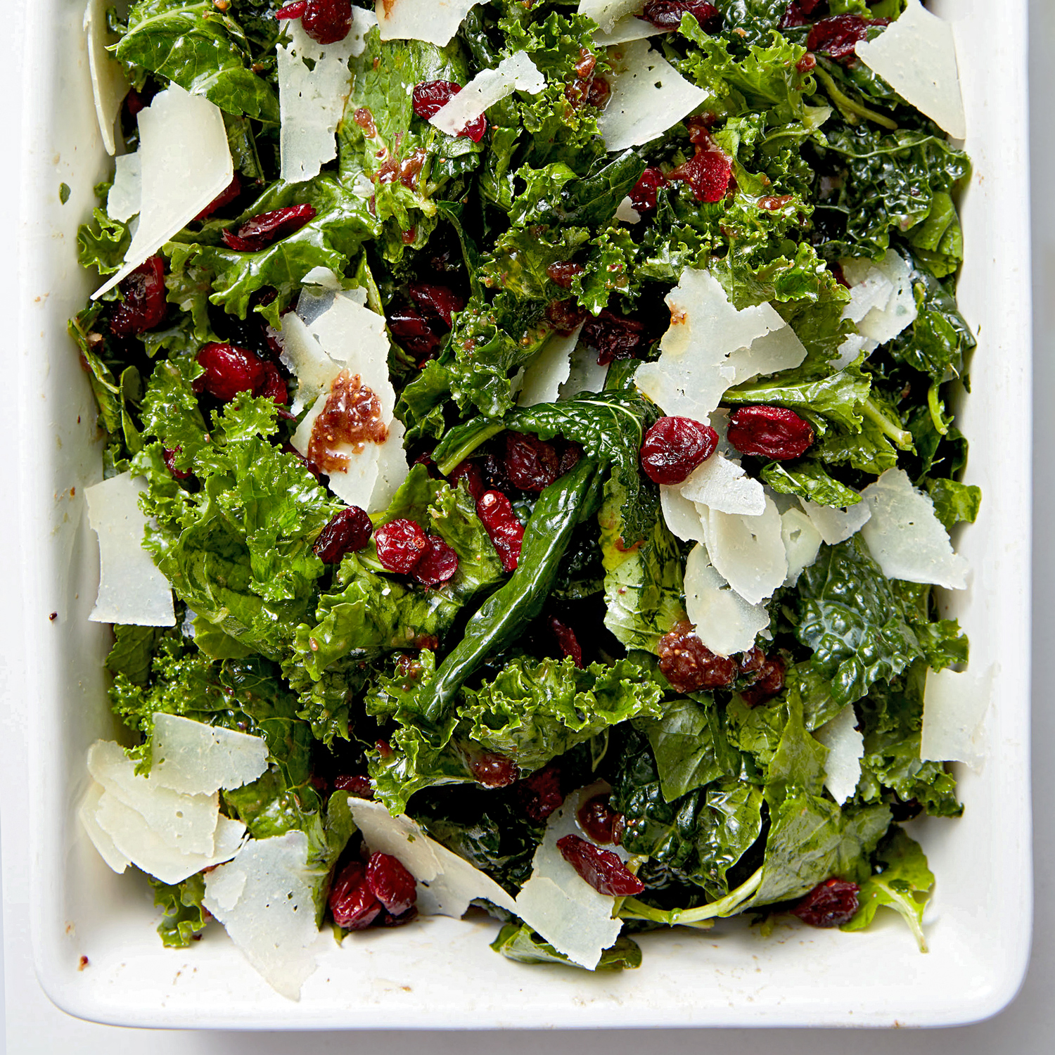 all the kale salad with fig-balsamic dressing