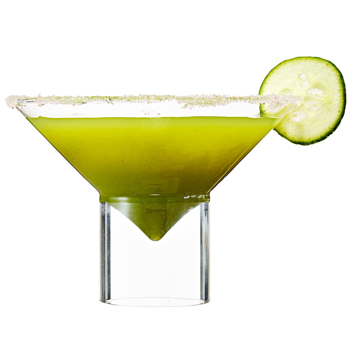 green sake martini