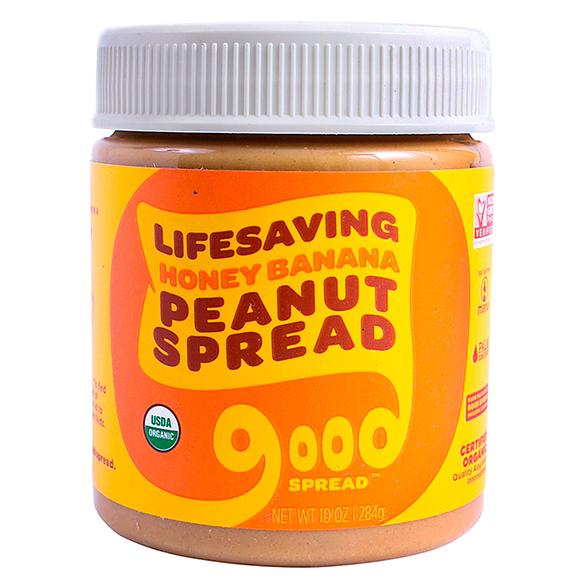 Lifesaving Honey Banana Peanut Spread