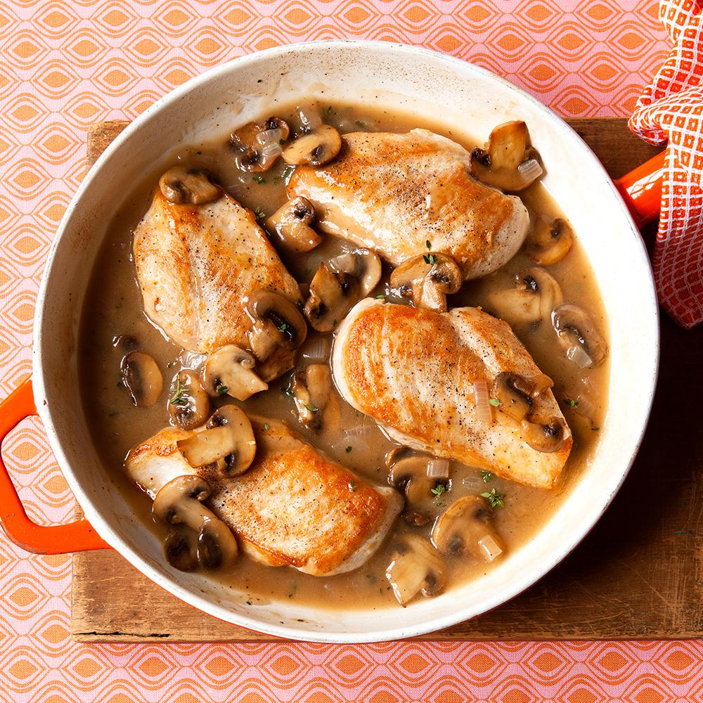 Mushroom Chicken