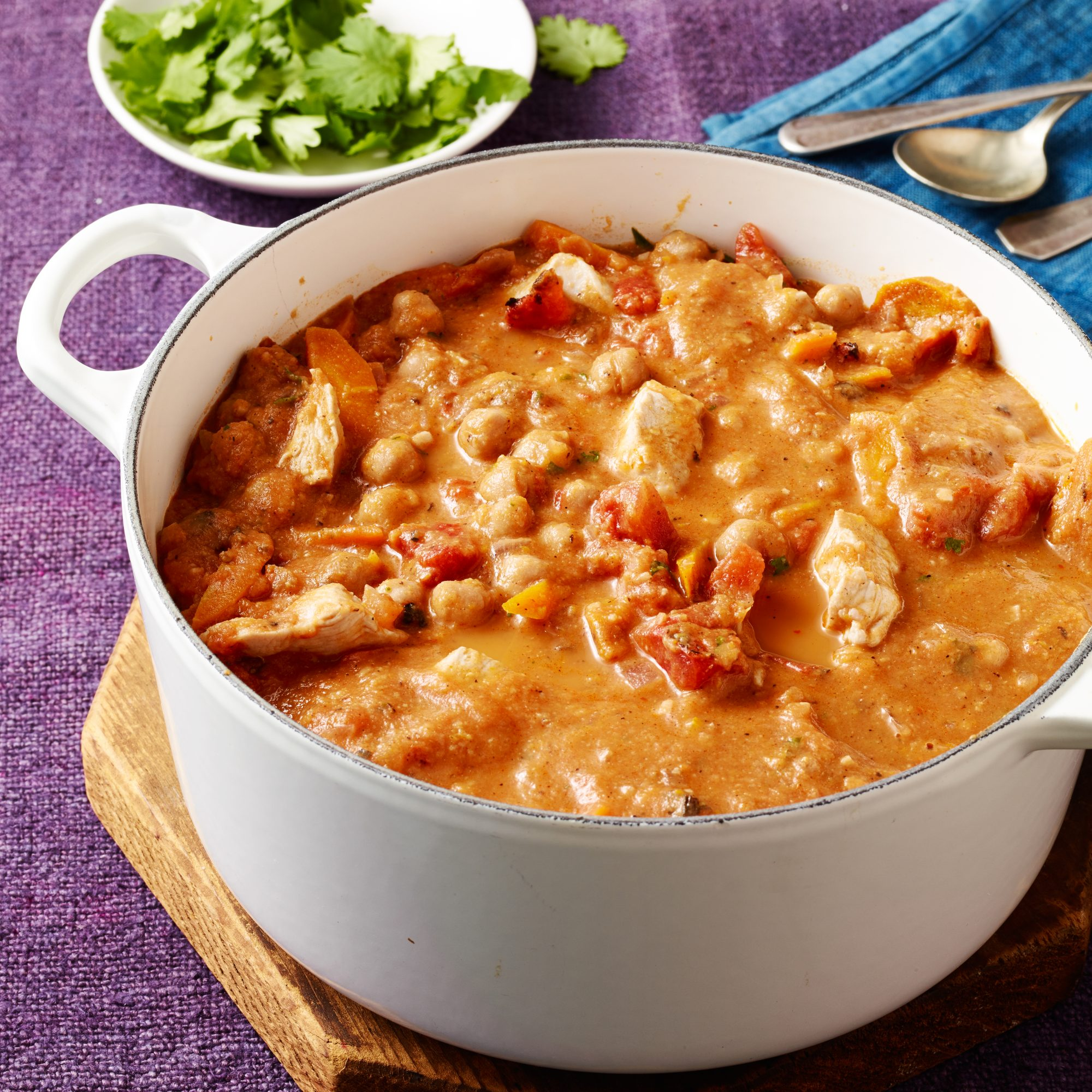 Moroccan Chicken & Chickpea Stew