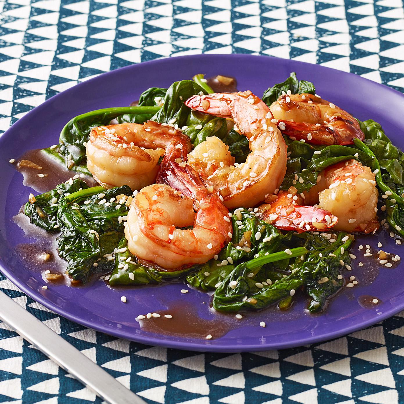 Sesame Shrimp Sauté
