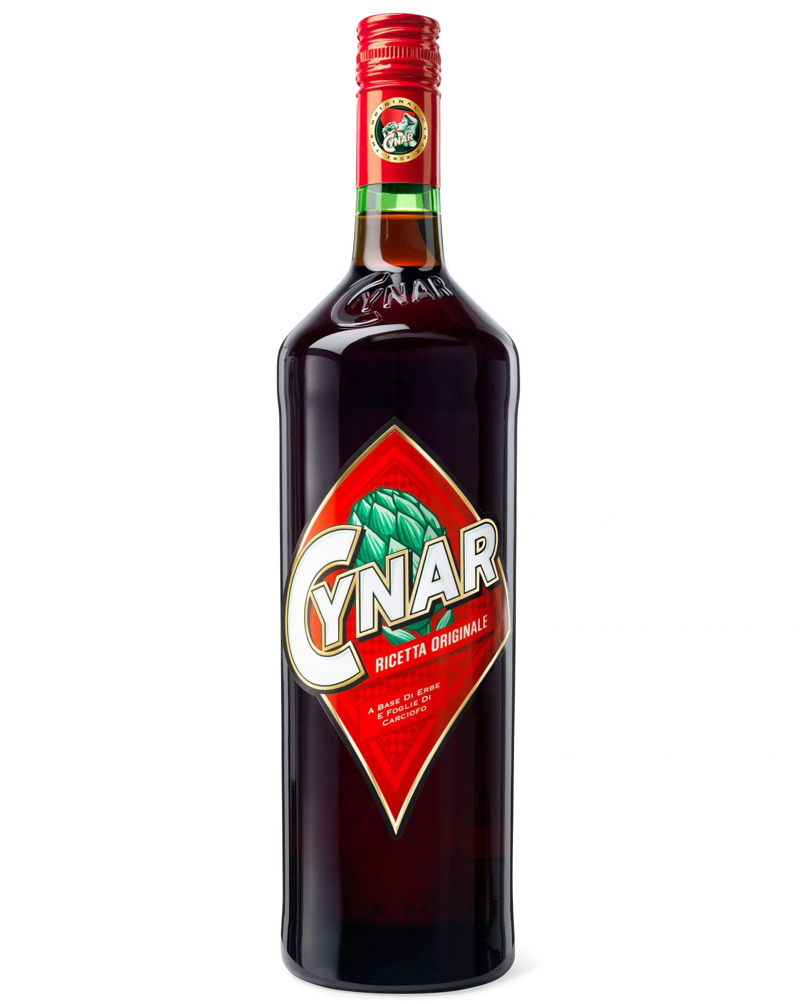 bottled cynar italian liqueur