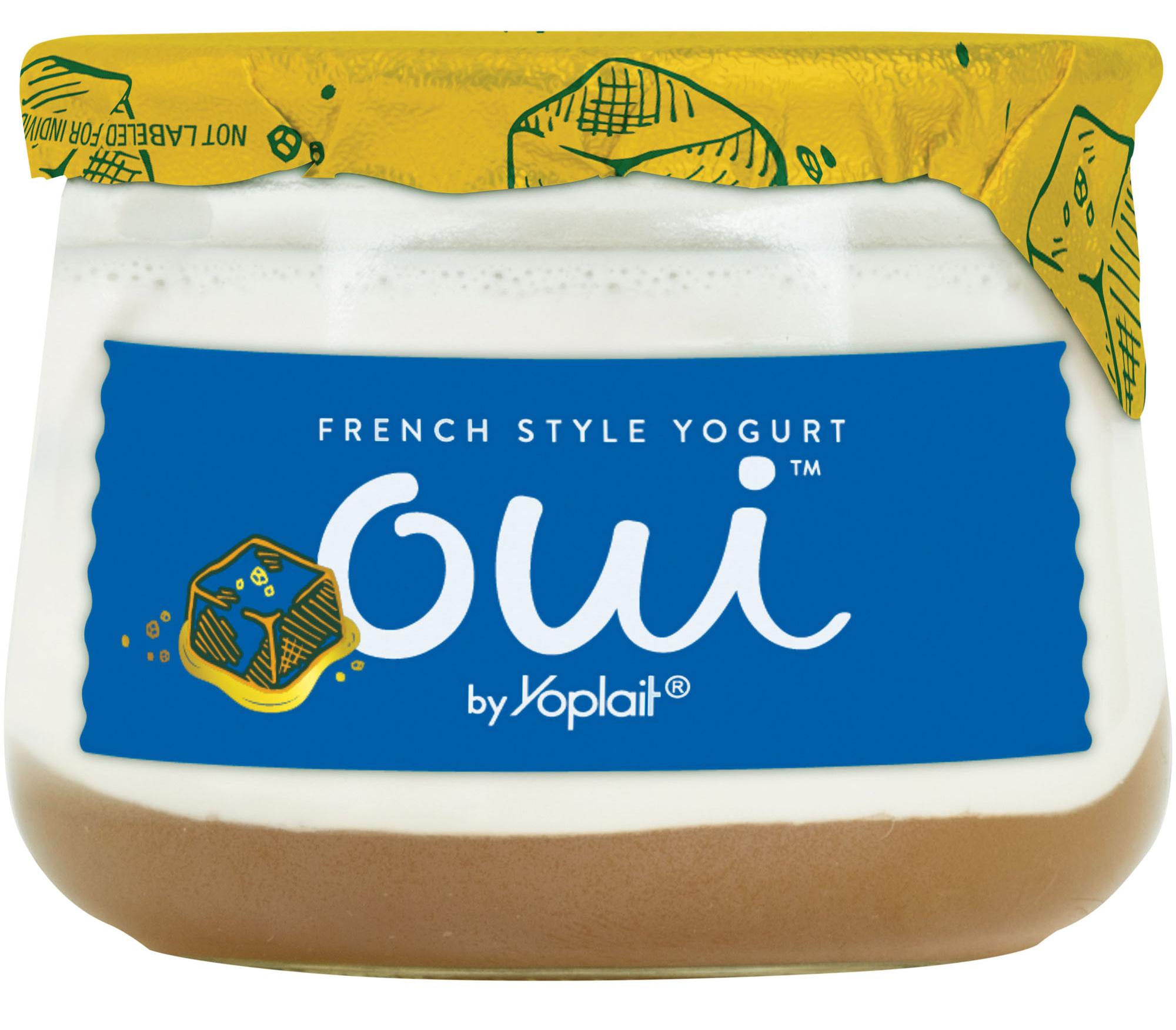 oui by yoplait petites sea salt caramel yogurt