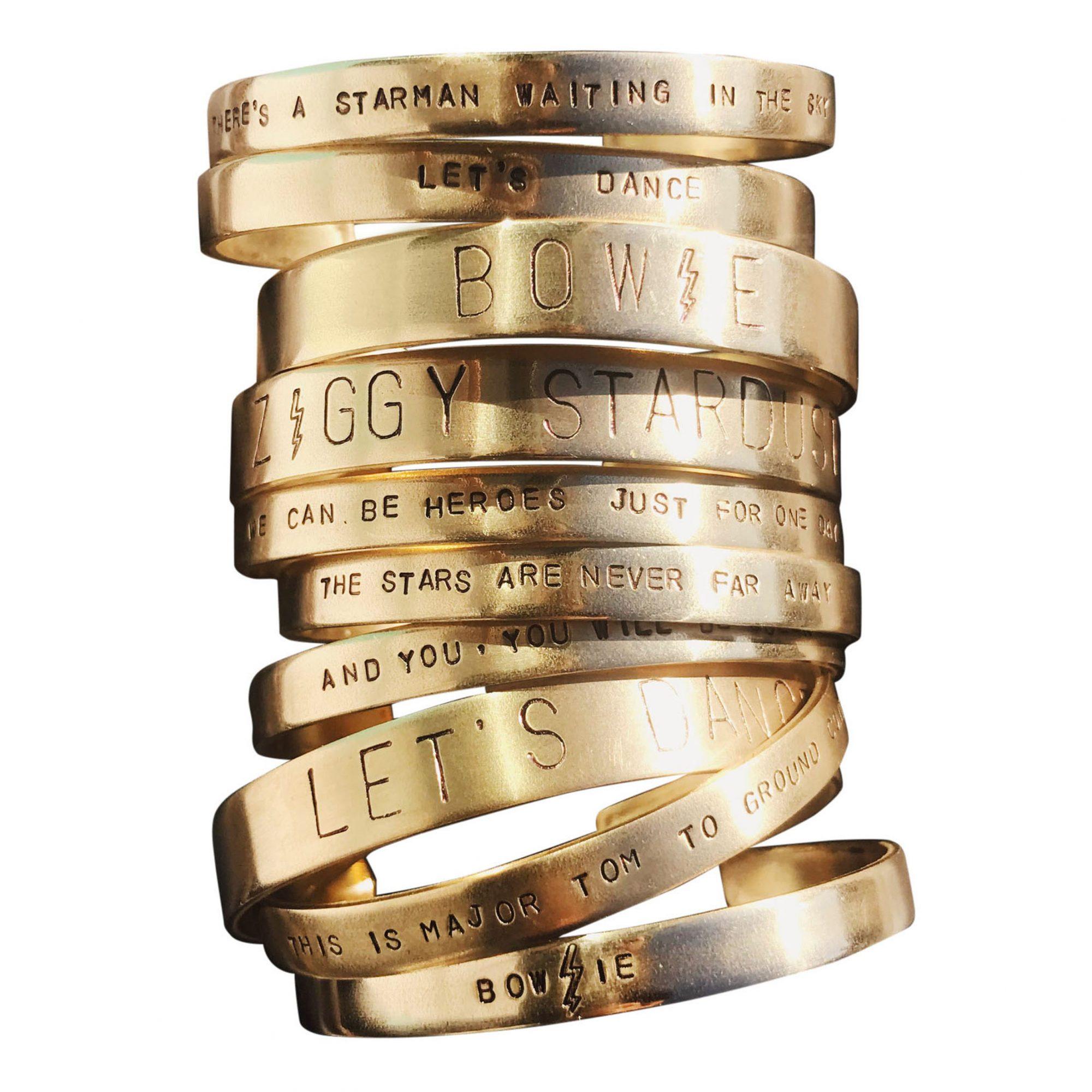 Edge of Urge Hand-Stamped Cuffs