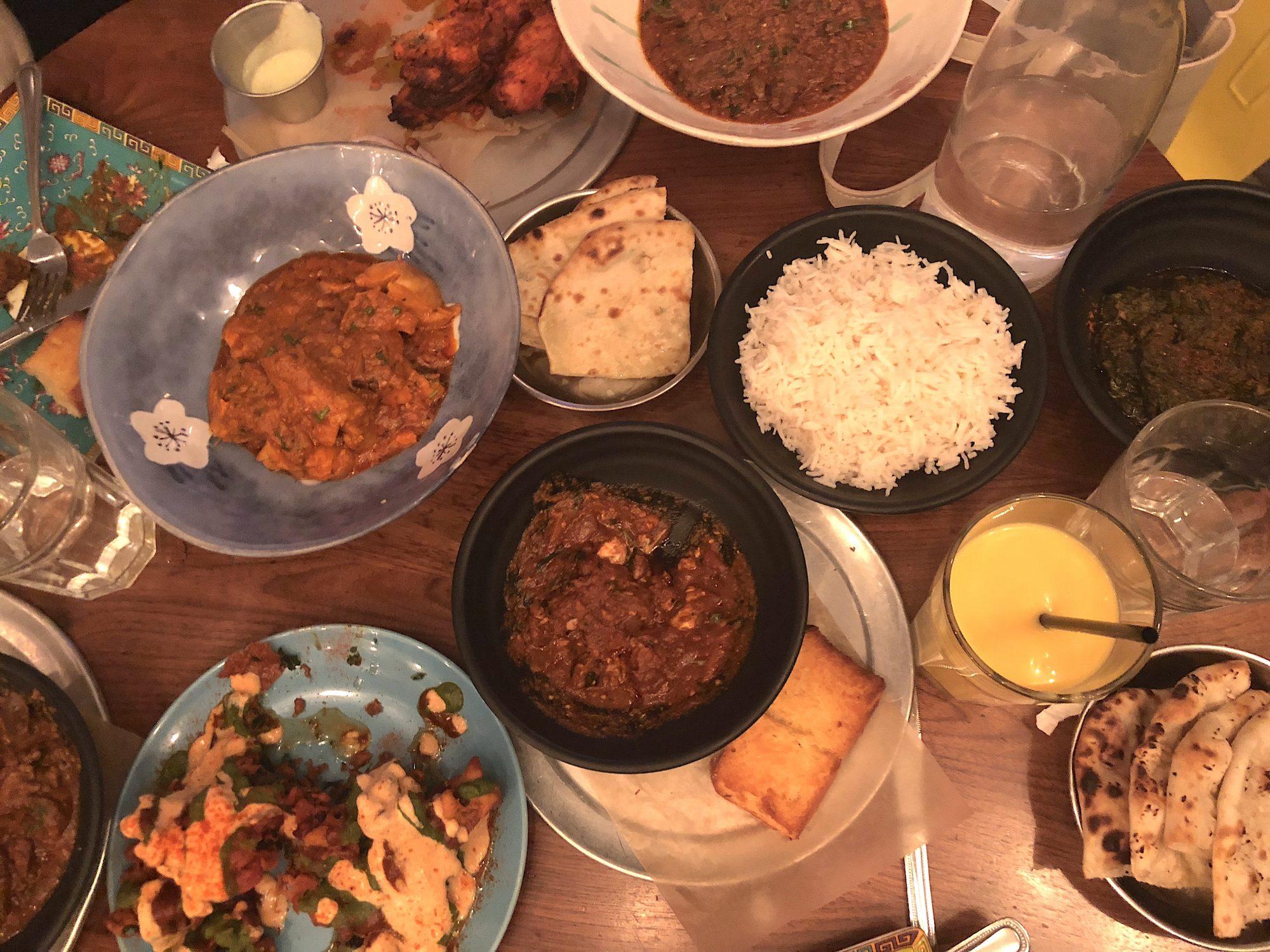 Dinner at Adda Indian Canteen
