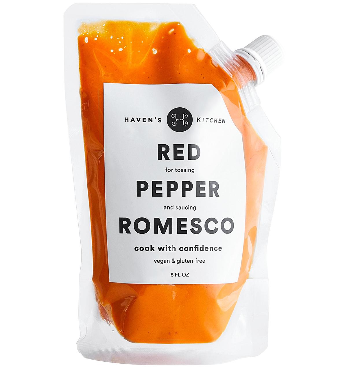 red pepper romesco sauce