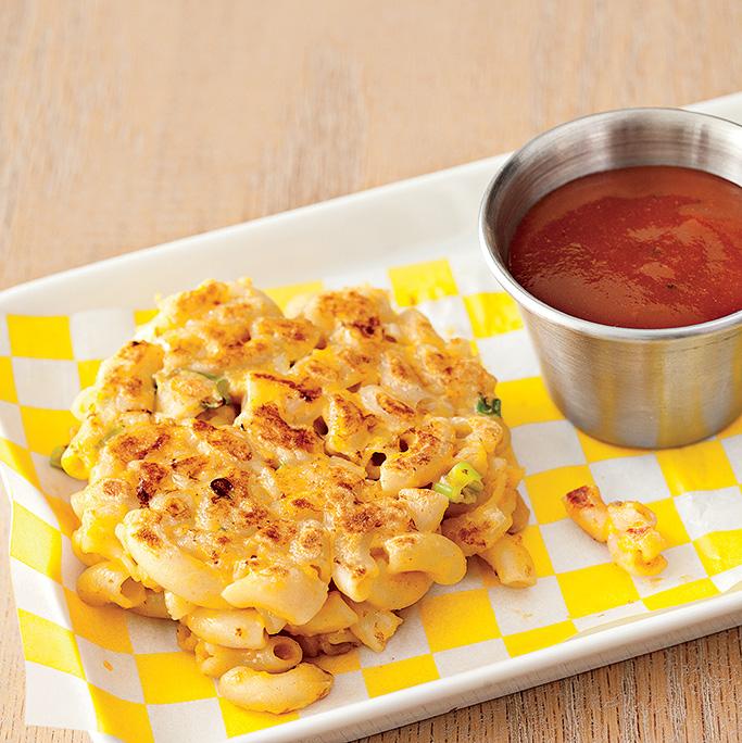 Mac 'n' Cheese Patties