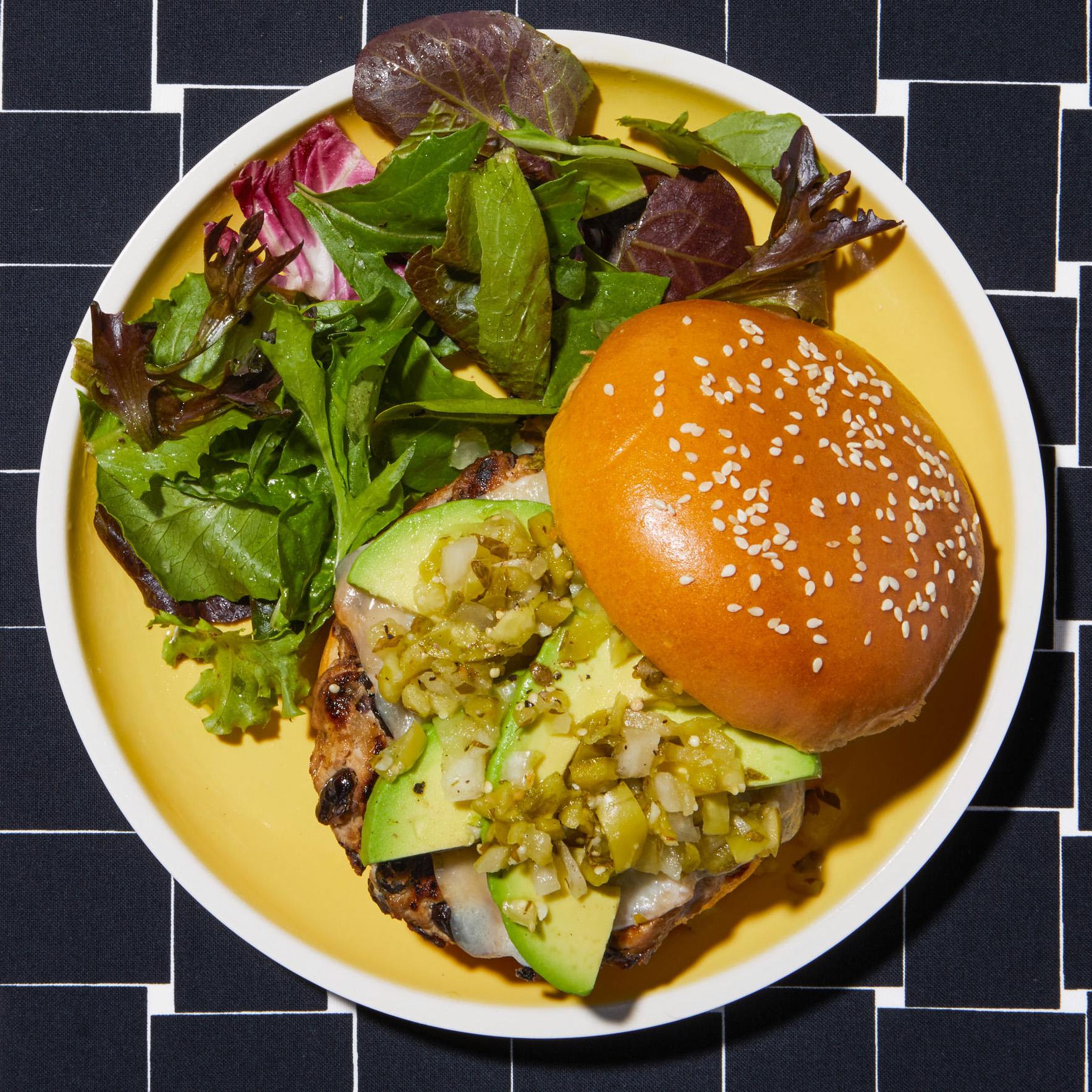 california style turkey bean burgers