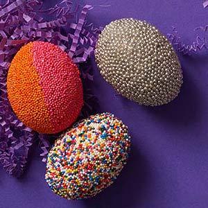 Edible egg decoration