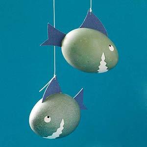shark easter eggs